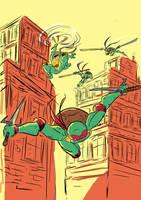 Teenage Mutant Ninja Turtles by kross29