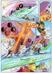 Brawl's Story on Webtoons final episodes