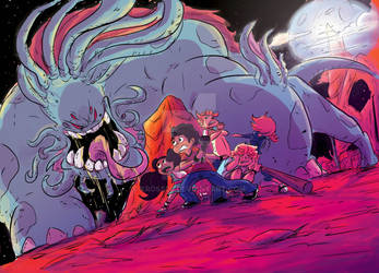 My New Book from  ONI PRESS: ALABASTER SHADOWS