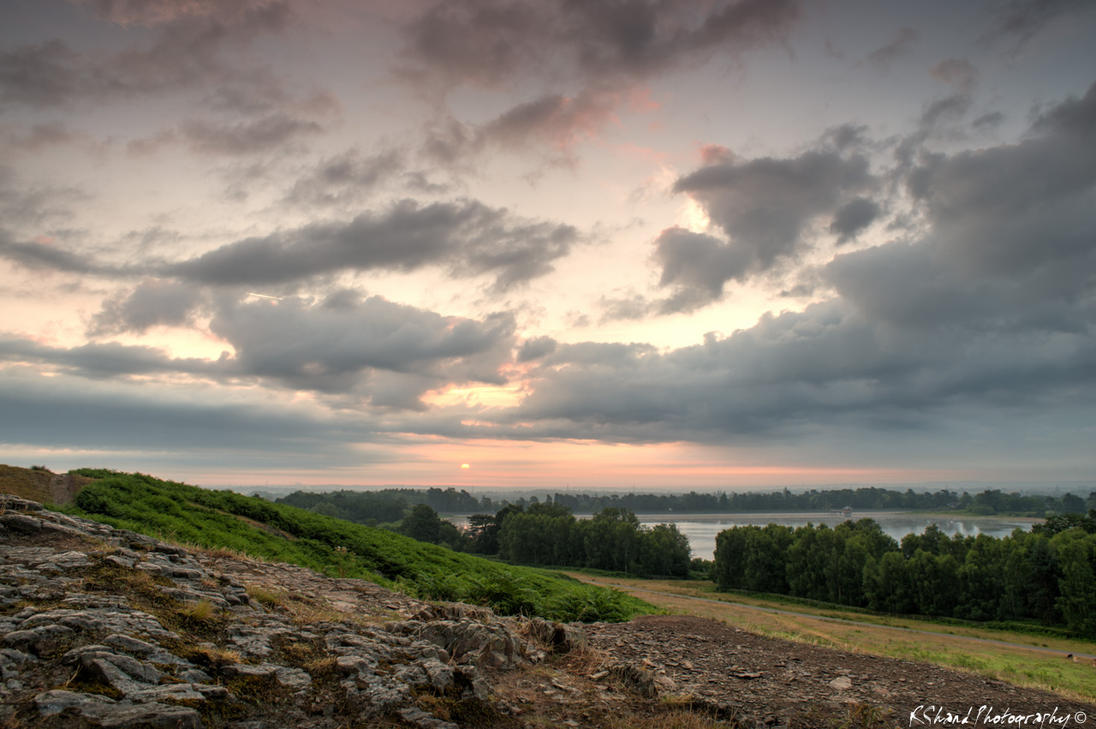 Sunrise at Bradgate Park by Auraomega