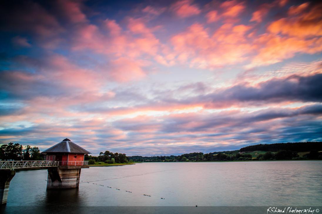 Cropston Reservoir by Auraomega