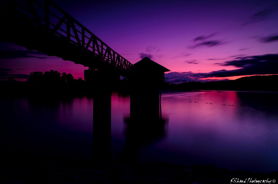 Sunset at Cropston by Auraomega