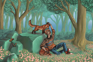 [ARTTRADE]Devan in the meadow by Zotco