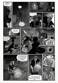 Horror comic project page 2 [ENGLISH]