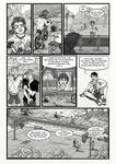 Horror comic project page 6 [english] by Zotco