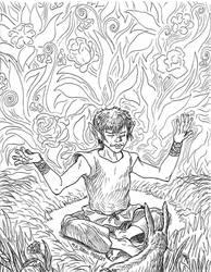 Random drawing 18 Udoon s meditation