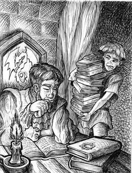 Intense reading