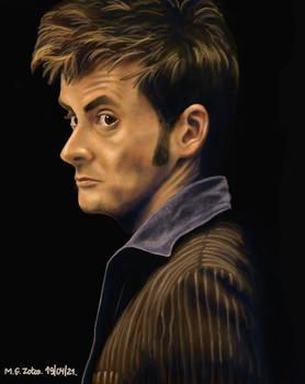 Study 05 - The tenth Doctor David Tennant