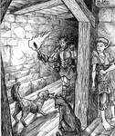 The prince's escape by Zotco