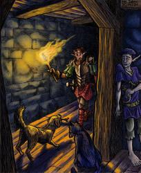 The prince's escape - coloured version