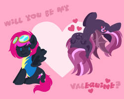 Happy Valequine's Day by BootyWolf