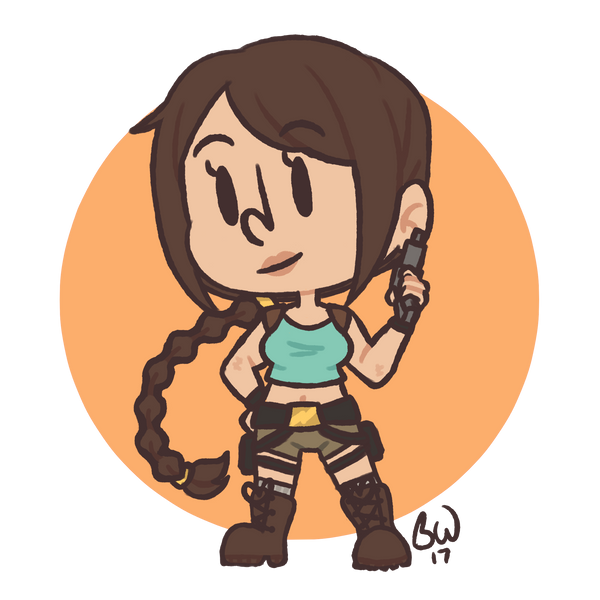 Tomb Raider by BootyWolf
