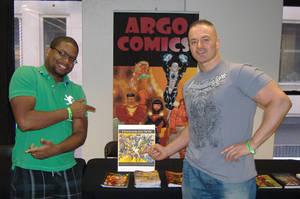 D Nation at Big Apple Con by argocomics