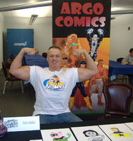 Argo Comics at CGS Supershow by argocomics