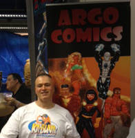 Ago Comics at the NY Comic Marketplace by argocomics