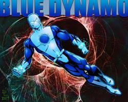 Blue Dynamo by Shadowrenderer by argocomics