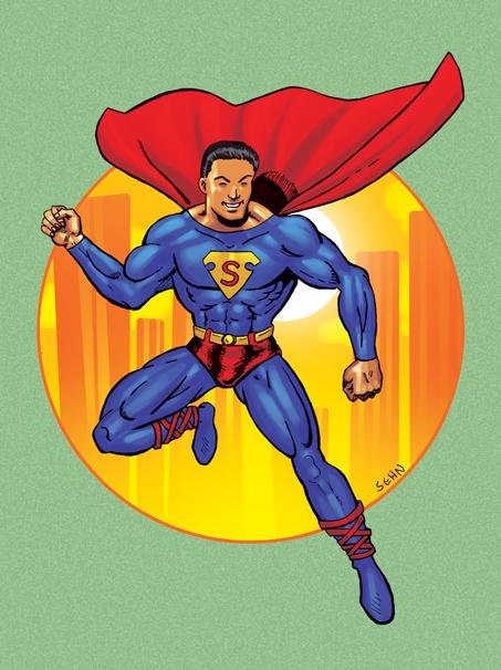 Action 1 Superman by argocomics