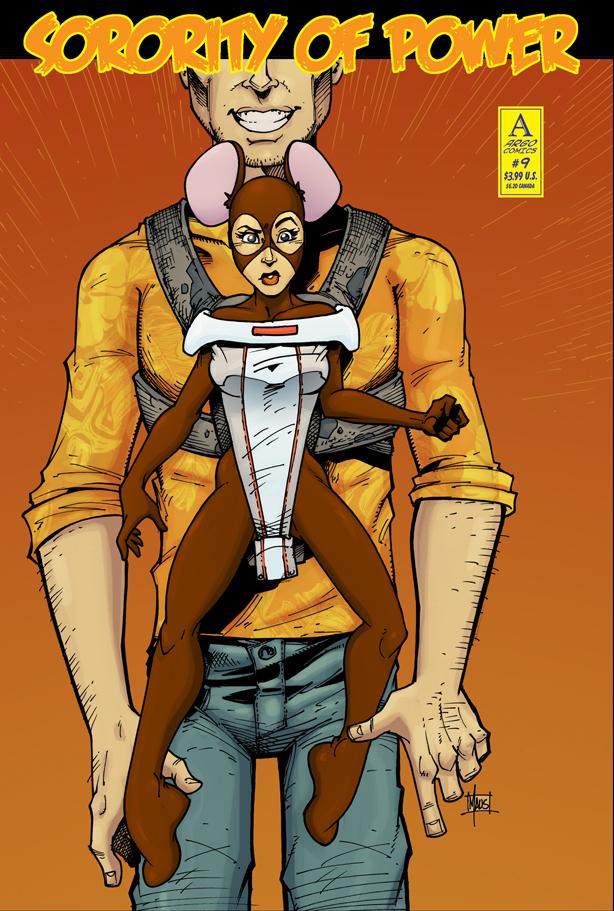 Sorority of Power # 9 Variant Cover by argocomics