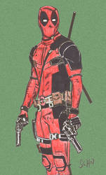 Deadpool by argocomics