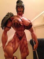 GLADIATRIX statue by argocomics
