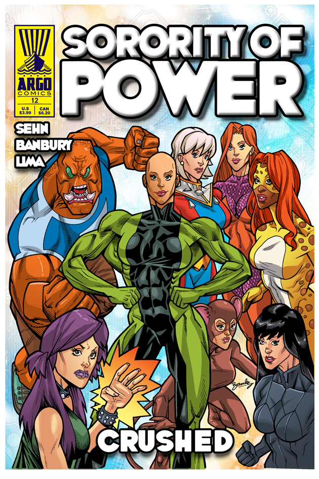Sorority of Power #12 by argocomics