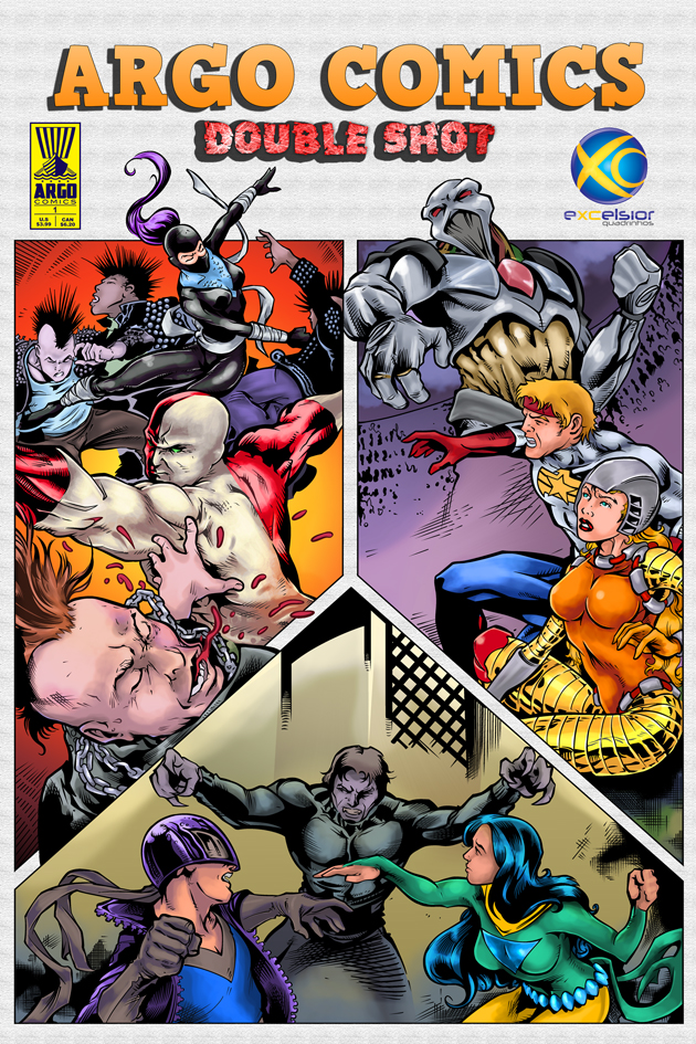 Argo Comics Double Shot #1 by argocomics