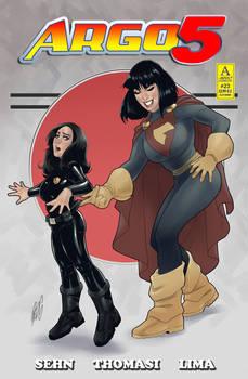 Argo 5 #23 Variant Cover