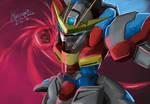 Gundam build fighters try: try burning gundam