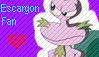 Stamp- Escargon Fan by Skyebell