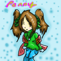 Present 2- Penny by Skyebell