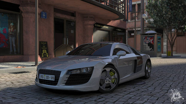 AudiR8 The Elegant