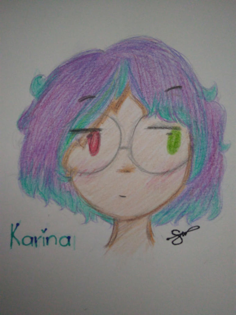 Karina con cabello cortito by suufro
