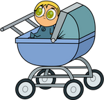 TD: Baby in Carriage - Gidgette by GothikXenon