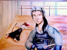 Mona Lisa Kendo by viciousoul