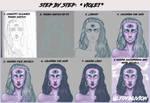 Step by step: Violet