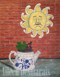 Sun with Flowerpot