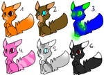 10 points Adoptables