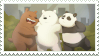 We Bare Bears stamp