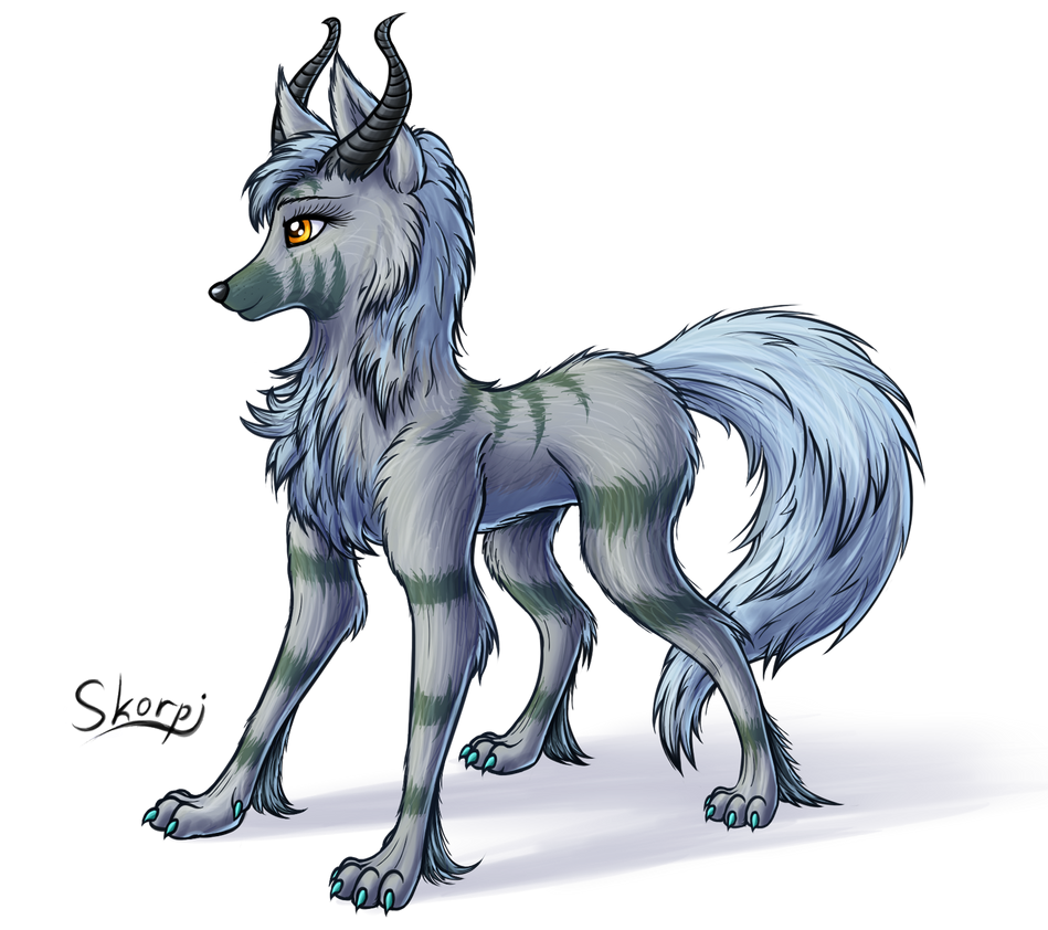 Amazing Aura (she-wolf) by SkorpionLetun