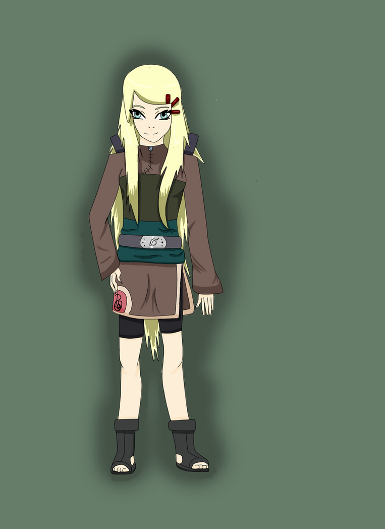 Naruto OC: Solinai Tarashi .:finished:. by TrollCoconut