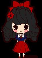 Chibi Snow White by magicalgirlme