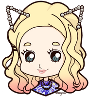 COM: The Girl with the Pearl Cat Ears by magicalgirlme