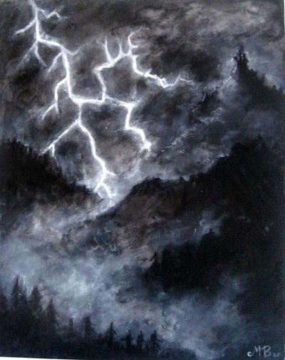 Bland bergen. by NattTtoll