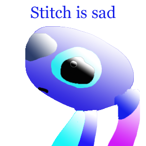 sad stitch wallpaper is - photo #22