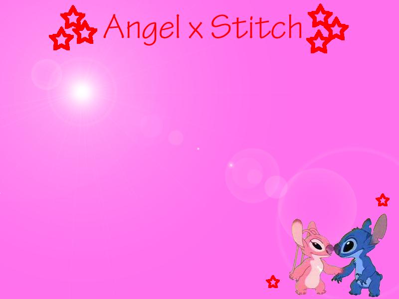 Stitch And Angel Wallpaper By Baudelairestitch