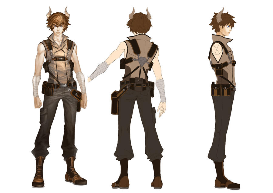 Coolest Anime Character Design : Character design by narrator on deviantart