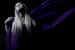 flying portrait by newodin