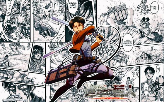 Levi Manga Style Wallpaper