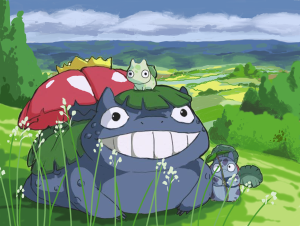 My Neighbor Venusaur by Piscimancy