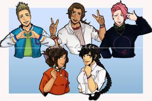 [CM ART 2020] The Adorable Five